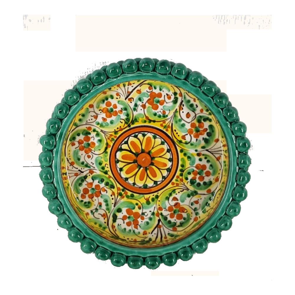vassoio Caltagirone ceramica