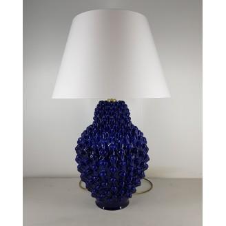 Lume in ceramica blu