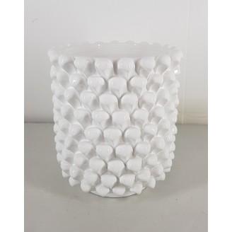 Portafiori Bianco Ceramica