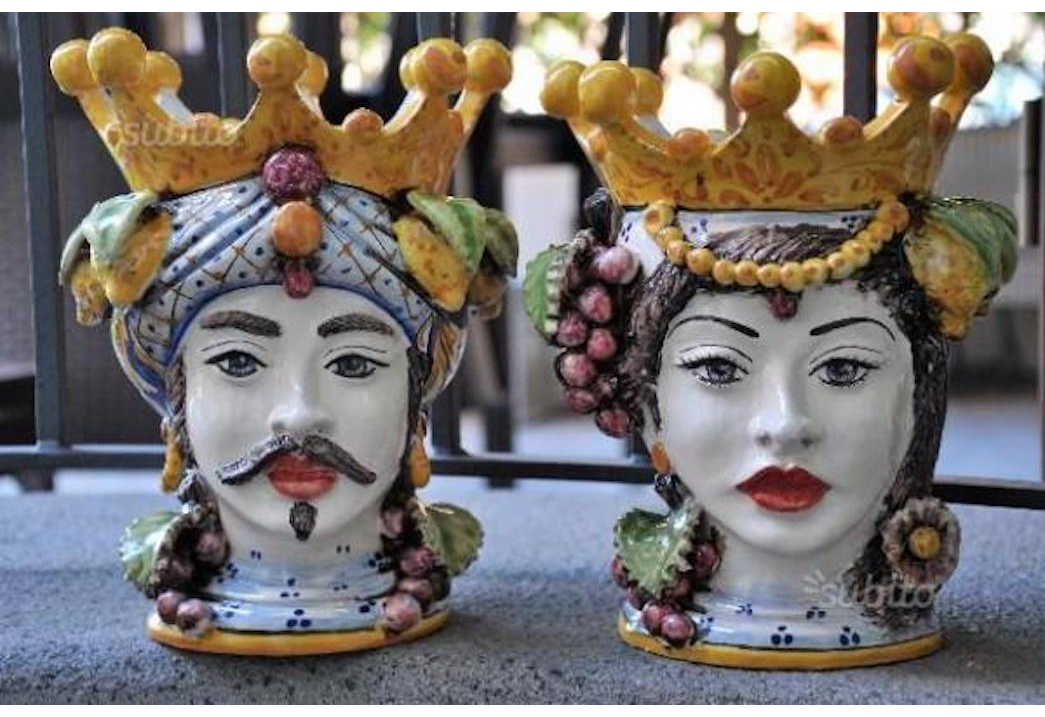 Testa di Moro: ceramica Sicilia